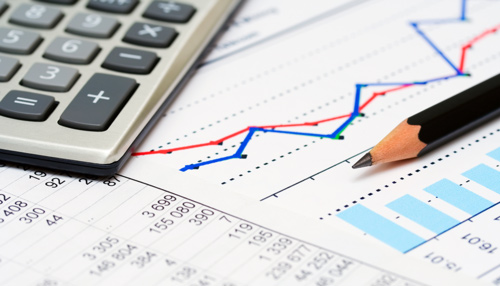 bookkeeping calculator and graph